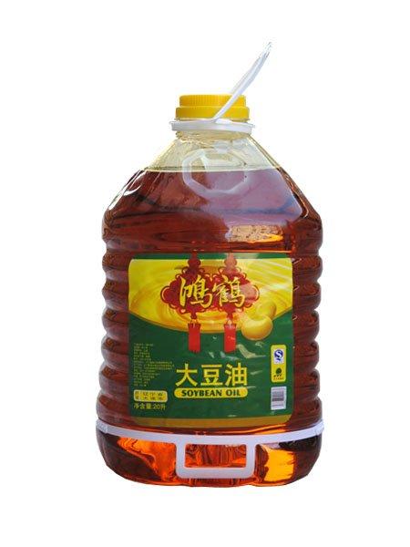 鸿鹤大豆油20l
