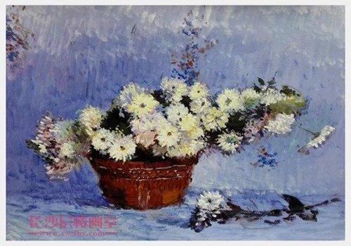 色彩花卉(上图)