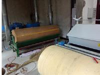 山西洪洞县张老板的宽幅机器让位精细弹花机。
