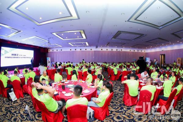 第一工程机械网BOSS团成立大会晚宴现场