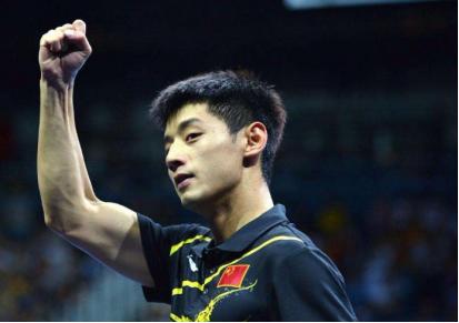 张继科再起征程 领军亚洲队争战亚欧乒乓球对抗赛
